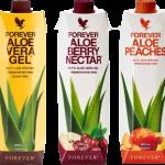 Forever Aloe Gels Tripack